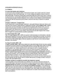 Categorie di intervento(parte ii)