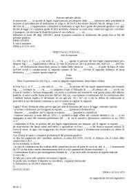 Formulario atti diritto civile