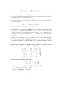 Esercizi matematica discreta