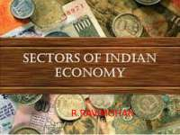 Sectors in the indian economy