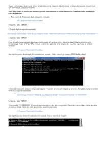 Desativação e atraso de sincronia de relógio da máquina virtual com relação ao windows, Notas de estudo de Tecnologia Industrial