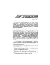 Derechos Economicos, Sociales y Culturales, Monica PINTO
