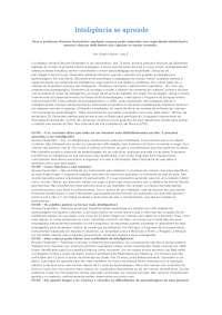 Texto 2 inteligencia se aprende entrevista feuerstein