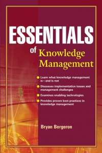 Essentials of knowledge mgt
