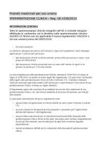 Traduzione prodotti medicinali per uso umano