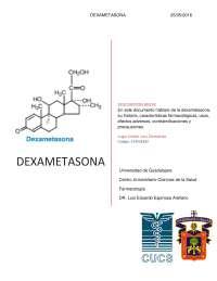 Investigación Documental, Dexametasona