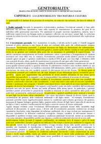 Genitorialità  Profili psicologici, aspetti patologici e criteri di valutazione Greco, Maniglio