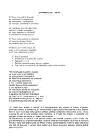 """Tema Cecco Angiolieri commento al testo """"S'i' fossi foco, ardere' il mondo"""""""