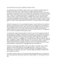 Analisi strutturale tv, Esercizi di Storia Della Radio E Della Televisione