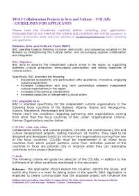 Bac 2014.2 colabs guidelines