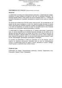 Articulo enf. de chagas