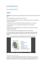 Veterinaria Microbiologia tema 1