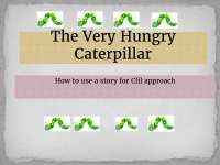 The very hungry caterpillar.pptx