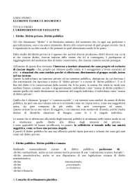 RIASSUNTI DIRITTO PUBBLICO ROMANO