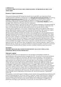 Profili evolutivi diritto industriale