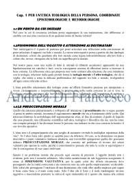"""Riassunto """"ETICA TEOLOGICA. Persona e ragionamento morale"""", P. COGNATO, Flaccovio, 2014"""
