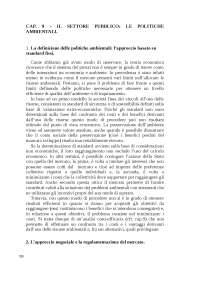 Cap. 9 politiche ambientali