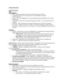 Telecomunicazioni appunti