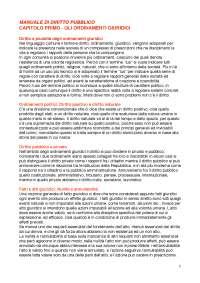 DIRITTO PUBBLICO - MANUALE DI DIRITTO PUBBLICO, ROSSANO - RIASSUNTI E APPUNTI CAPITOLI 1,2,3,4,5,6,7,8,9,10,11,12