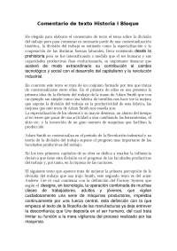 COMENTARIO DE TEXTO HISTORIA BLOQUE I