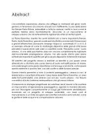 La Piana fiorentina: da vuoto urbano a tessuto connettivo nella morfologia dispersiva del sistema metropolitano
