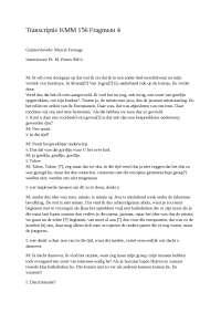 Transcriptie kmm 156 fragment 4