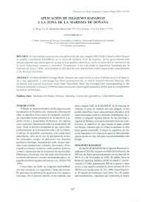 Estudio de caso radarsat ecologia