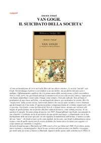 Antonin artaud van gogh il suicidato della societ