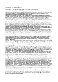 Trattato sui diritti reali docx