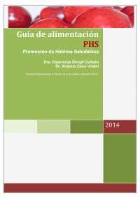 Guía de alimentación - Promoción de Hábitos Saludables (PHS)