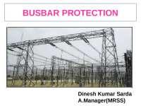 Busbar Protection Scheme