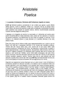 Aristotele poetica (testo completo)