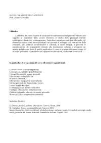 Progr sociologia delleducazione ii1