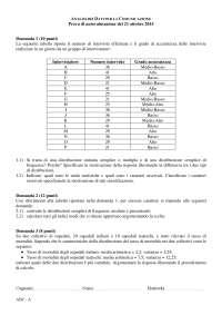 Prove autovalutazione 21ott2015