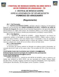 AD FORMOSO Festival de música