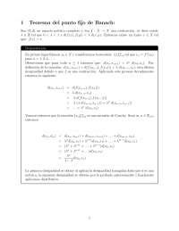 Teorema del punto fijo