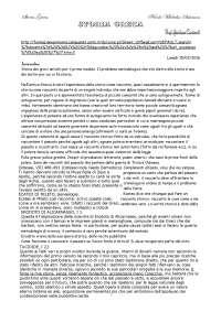 Storia Greca e Esegesi delle Fonti SFP, prof. Cuniberti
