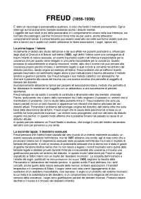 Riassunto Manuale di Psicologia Dinamica (Lis, Stella, Zavattini)