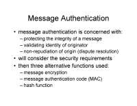 cryptography security issues