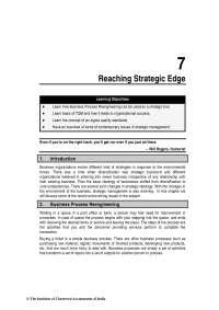 reaching strategic edge