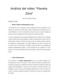 Caso Zara. Análisis del vídeo Planeta Zara