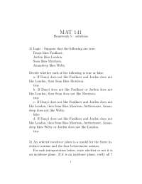 Euclidean Geometry exercise solutions 5