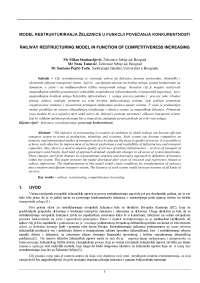 Model restrukturiranja ŽS