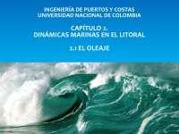 Dinámicas marinas en el litoral