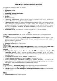 Reumatologia ed Immunologia