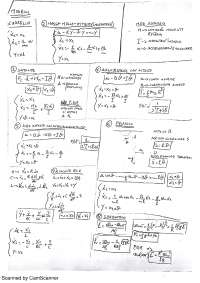 Formulario Sistemi Dinamici