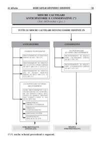 schema procedimenti cautelari civile