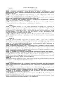 Riassunto Commentario al Codice deontologico dell'infermiere 2009 - IPASVI