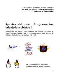 Lenguaje Java: manual completo