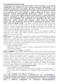 APPUNTI DI OCULISTICA- CDL INFERMIERISTICA